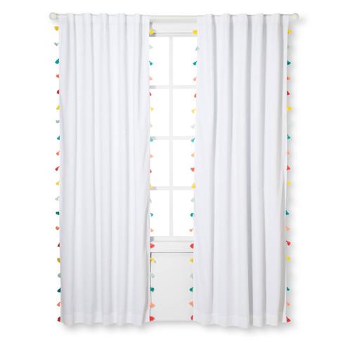 Tassel Lightblocking Curtain Panel
