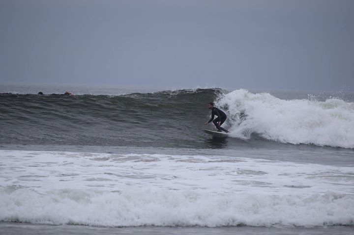 Surfing Waddell Beach
