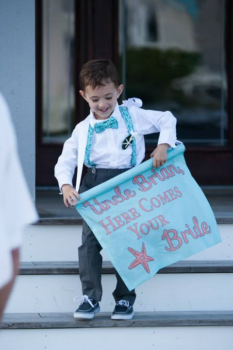 Ring Bearer's Sign