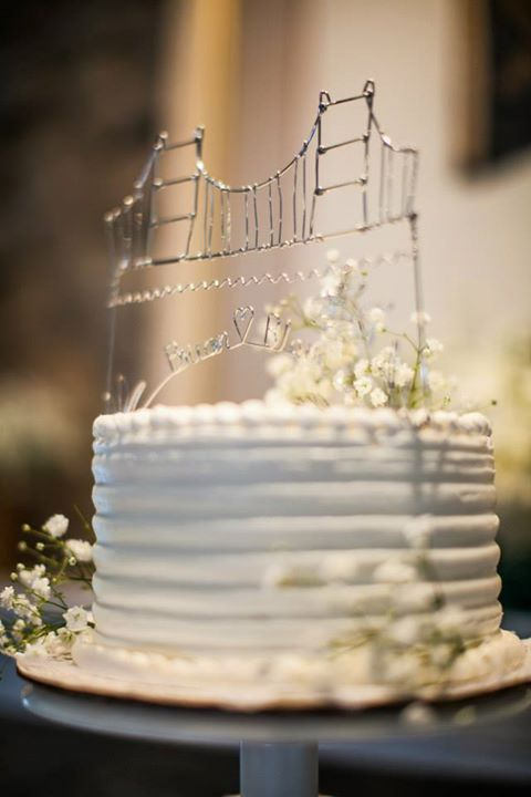 Golden Gate Bridge Cake Topper