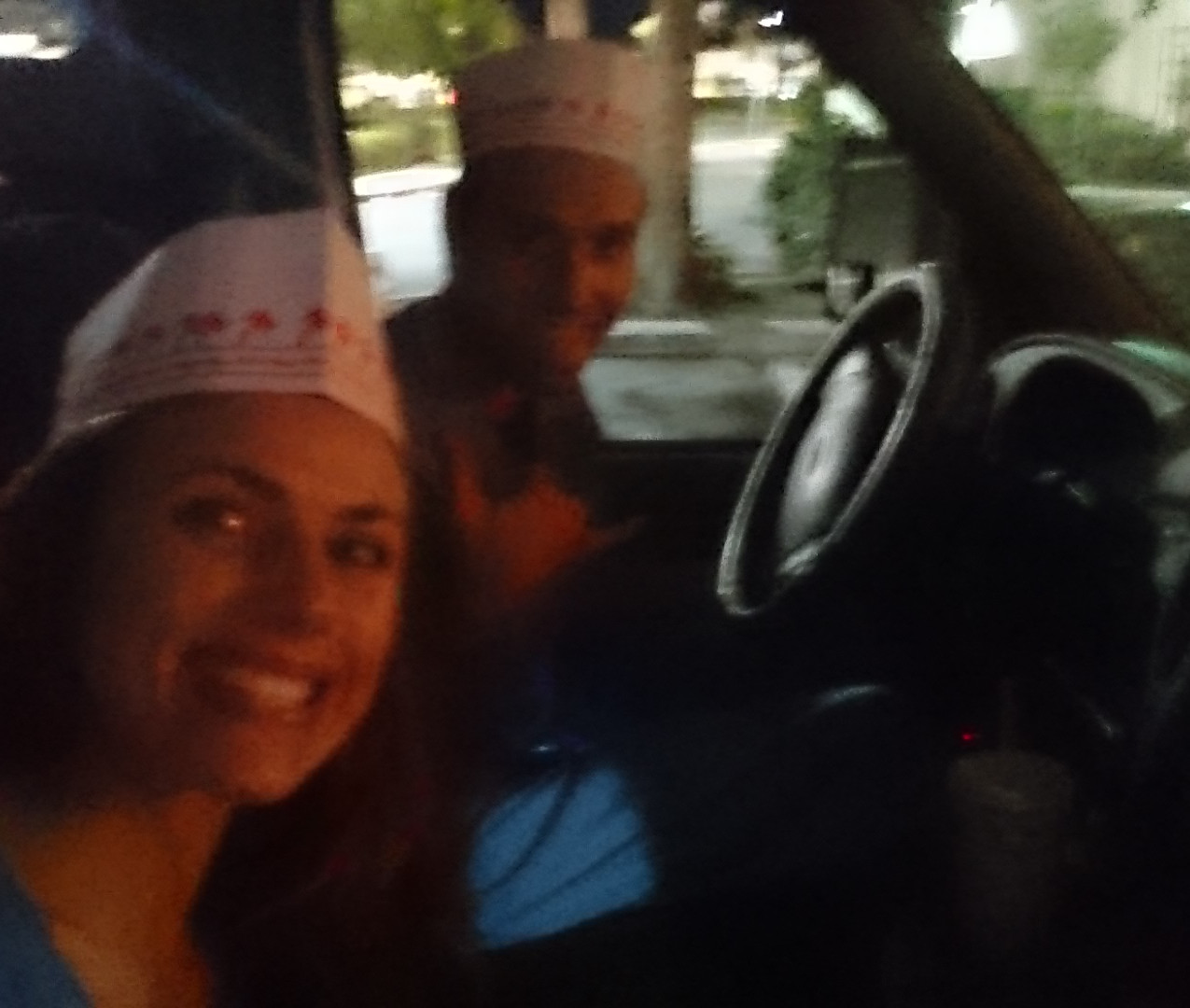 Can't not get the hats at In N Out