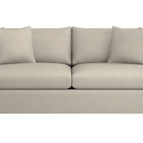Crate & Barrel Lounge Sofa in Cement