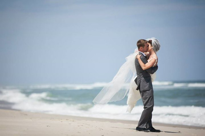 Our Rustic Beach Wedding