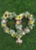 funeral willow heart