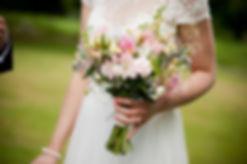 Bride's summer bouquet