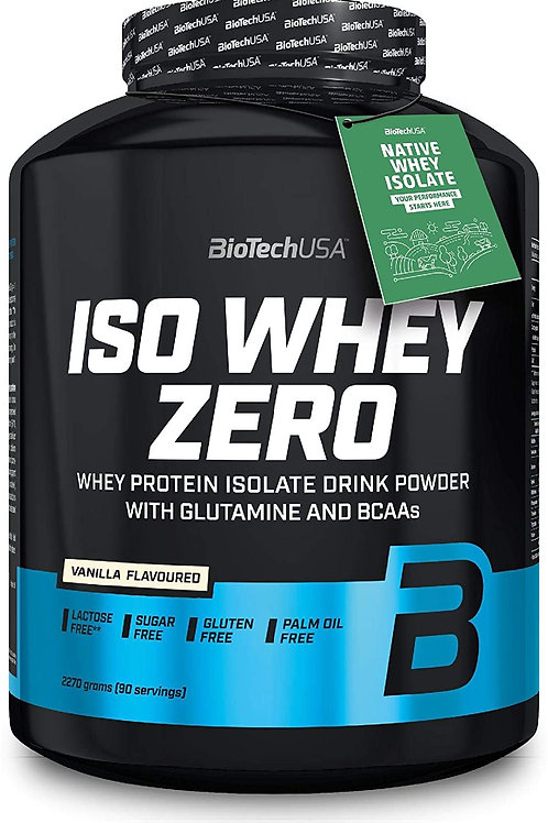 BIOTECH USA ISO WHEY ZERO 2,27 kilos