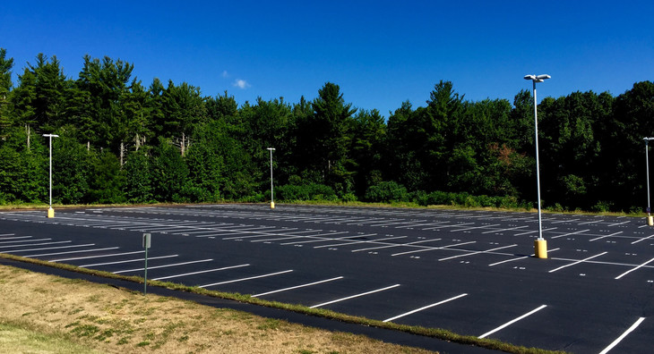 Parking Lot Sealcoating and Line Striping