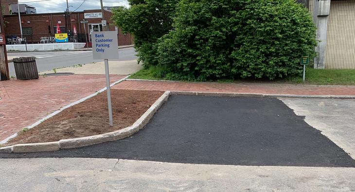 finshed parking lot expansion