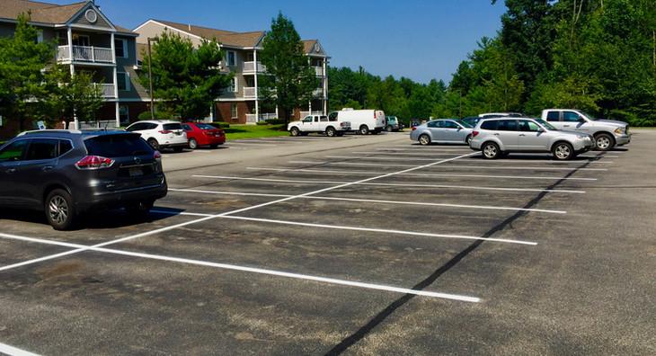 Parking Lot Re-Stripe
