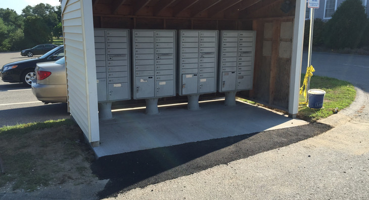 New Mailbox Shed Install