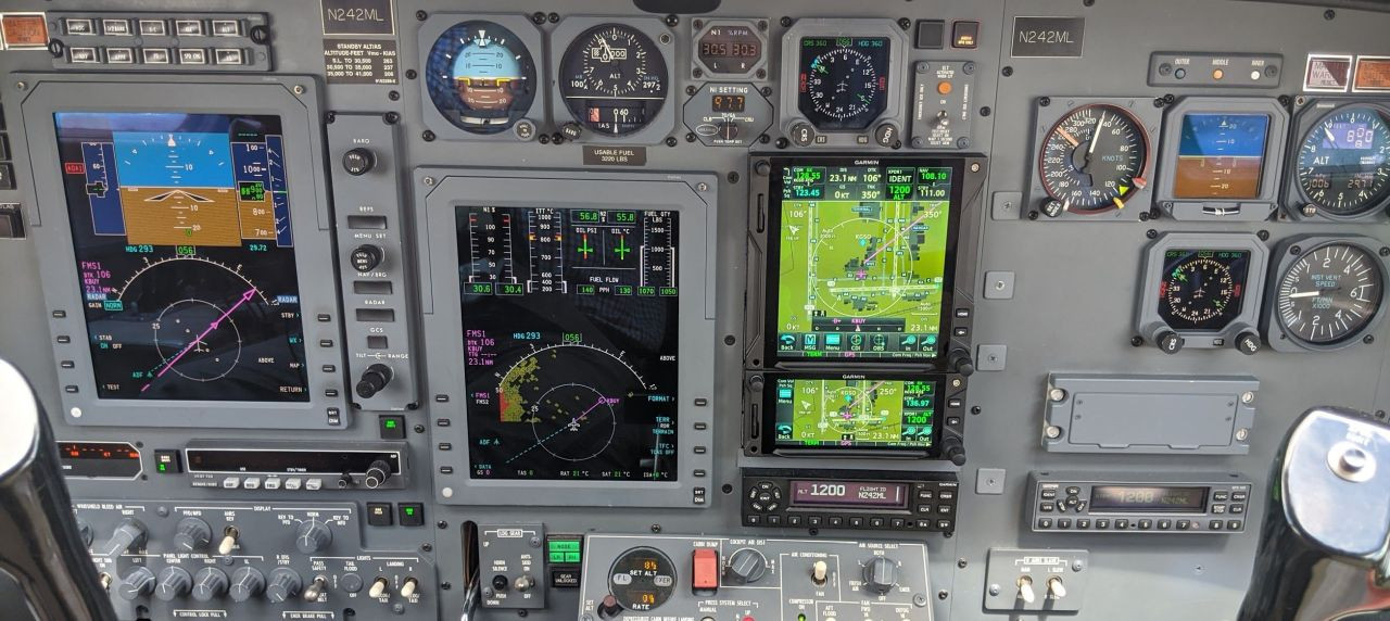 CJ1 Flight Deck