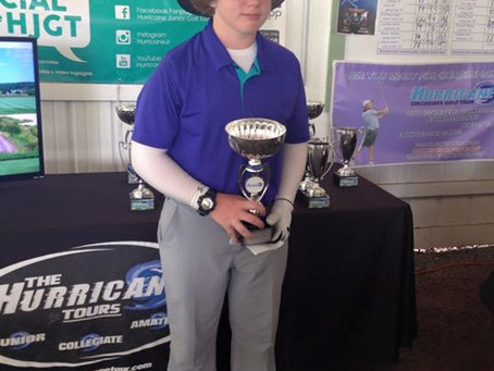 William wins 3rd HJGT tournament in a row. Shoots 2 day 147.