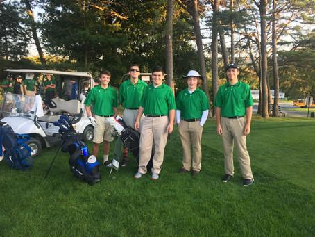 High School Golf Mid Season