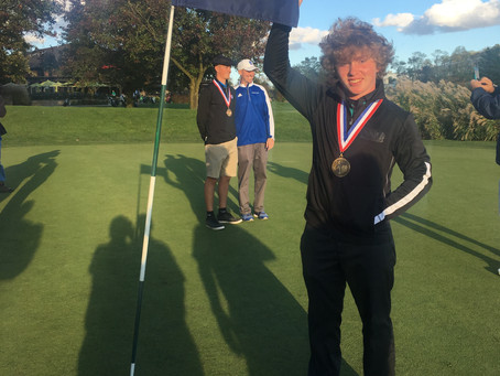 2nd Place In PIAA Golf State finals