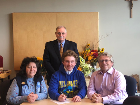 William Signs with University Of Delaware