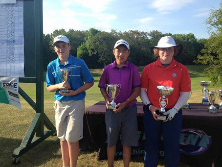 William wins his 4th HJGT tournament at Black Bear.