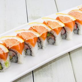 Zesty Salmon Roll  11.95