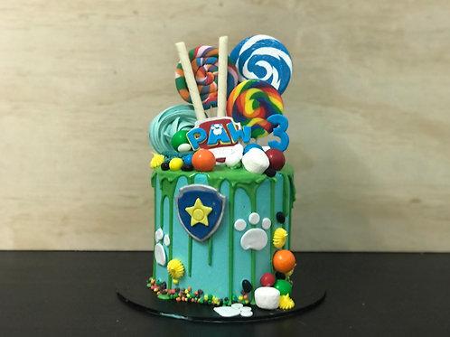 PAW PATROL Candy Coma Cake