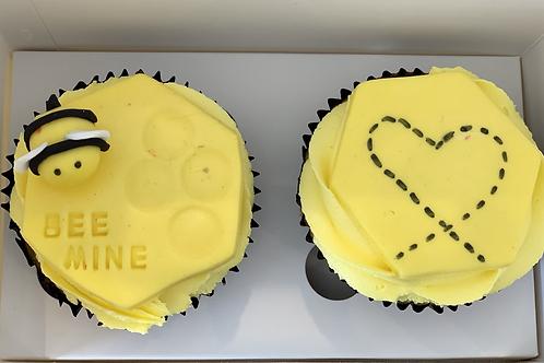 His & Hers Cupcake Box
