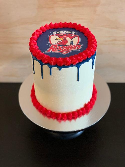 Team Drip Cake