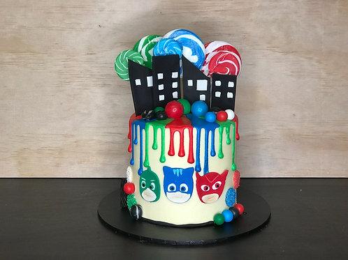 PJ MASKS Candy Coma Cake