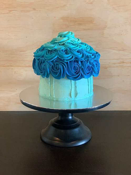 Cake Smash - Ombré Blue