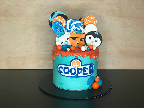 OCTONAUTS Candy Coma Cake