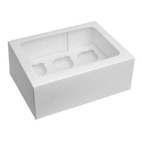 6 Hole Cupcake Box