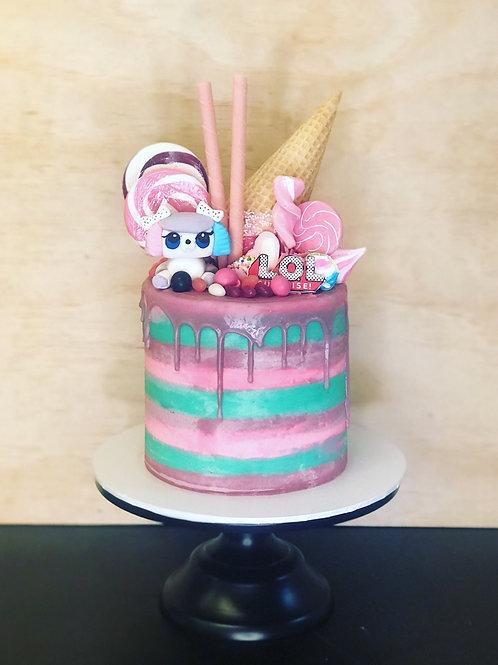 LOL Candy Coma Cake
