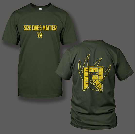 "Rackulator ""Size Does Matter"" Shirt"