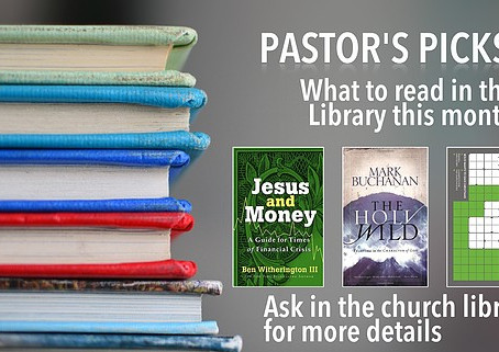 Pastor's Picks - February 2018