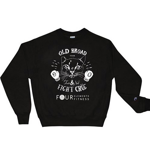 """OLD BROAD FIGHT CLUB"" Sweatshirt"