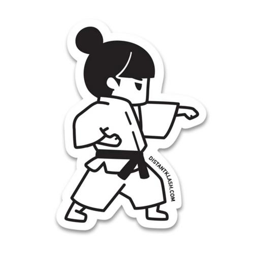 Martial Arts Sticker by Distant Klash