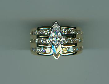 Marquise Dream Ring