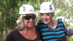 Two for ziplining