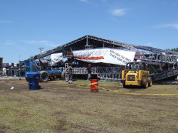 Rocklahoma North Stage flattened