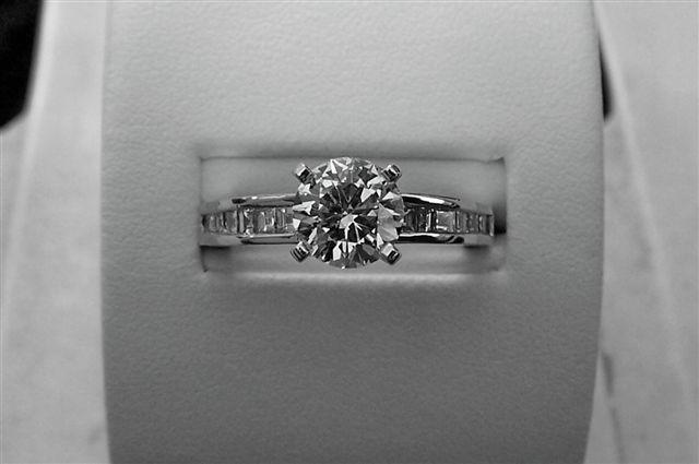 Channel Set Diamond Beauty