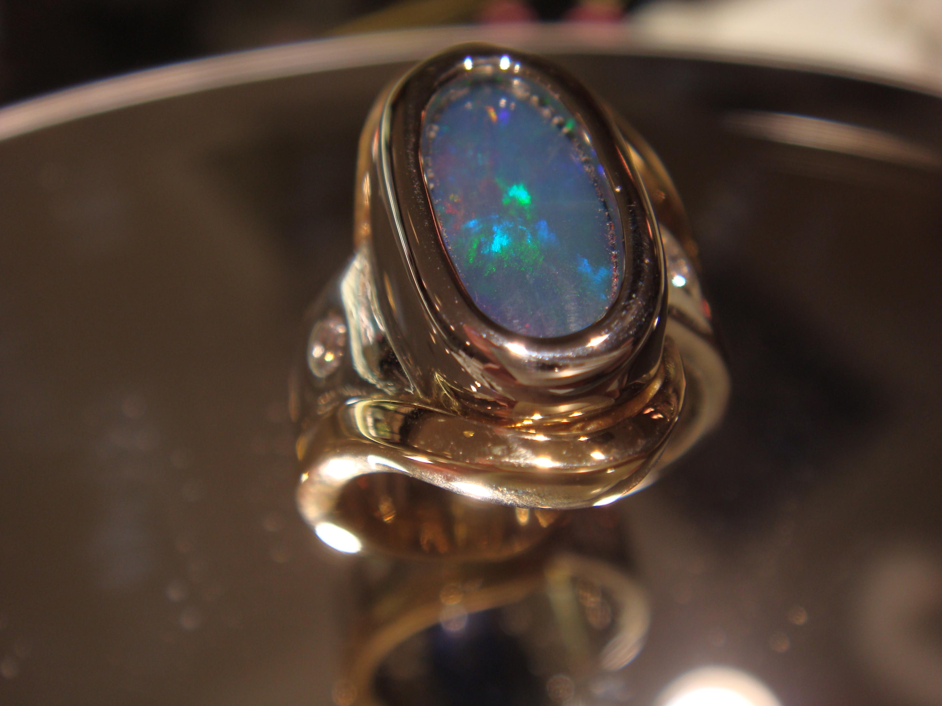 Lovely opal ring