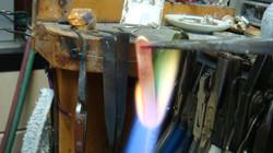 anhealing (softening) the metal