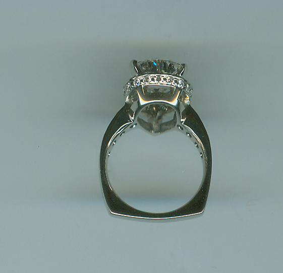 Pear shaped dream ring side