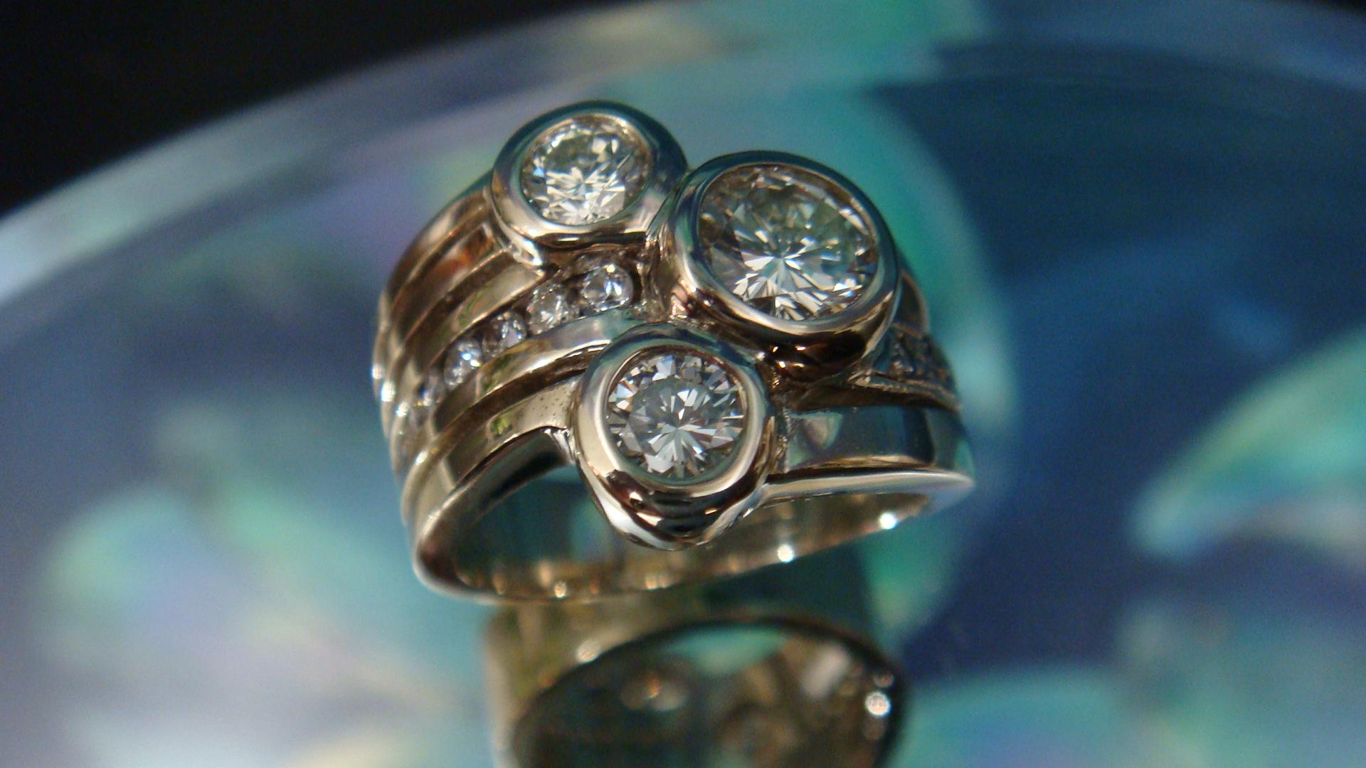 OMG diamond ring