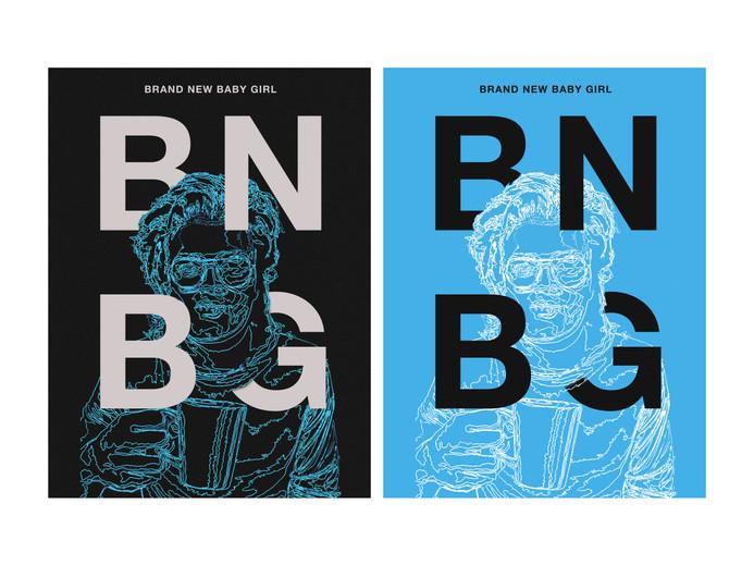 "Djo poster based off of the track, ""BNBG."""