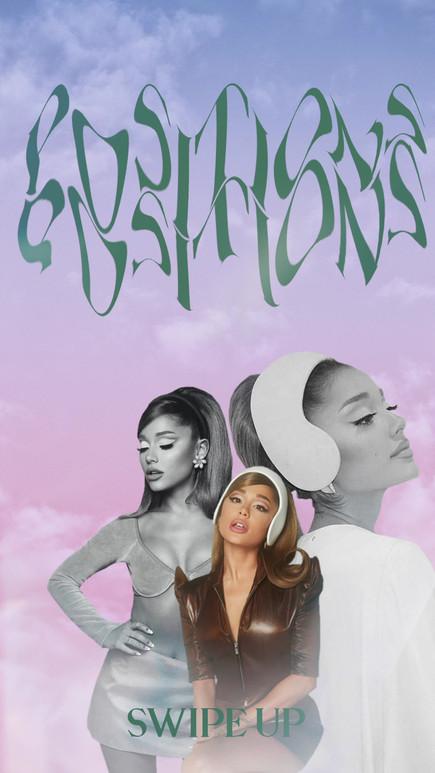 Ariana Grande - Story promo concept