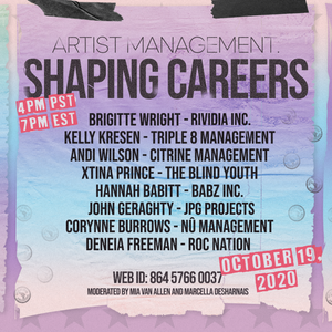Artist Management: Shaping Careers (Color of Music Collective Panel)
