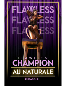 "Champion poster for short film, ""Flawless."""