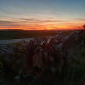 Mein 1. Foto zeigt einen schönen Sonnenuntergang.