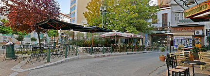 Iroon Square, Athens, Greece