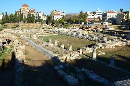 Archaeological Site of Keramikos, Athens, Greece