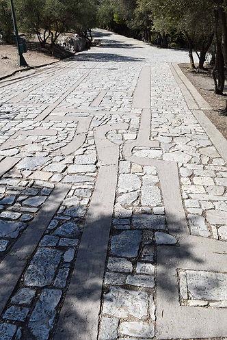 The Pikionis Pathway, Athens, Greece