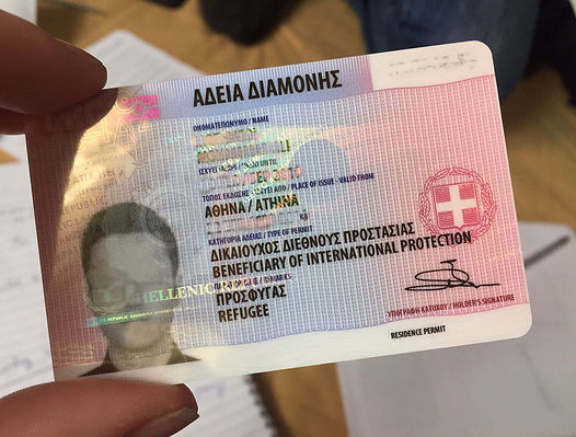residence permit greece